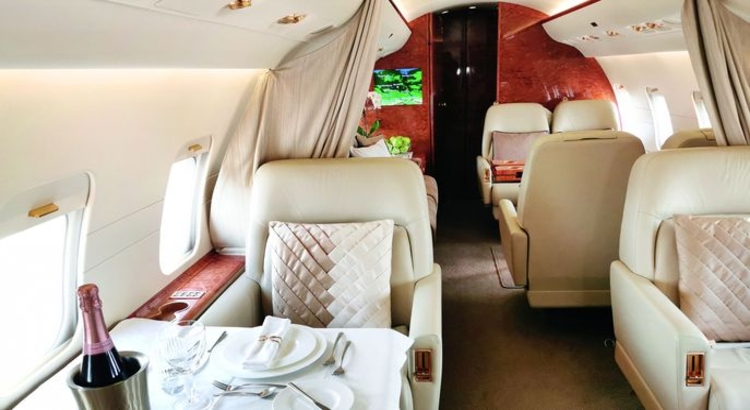 Windrose Finest Travel_Private Jet Foto Windrose