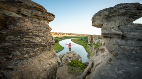 Kanada Alberta Writing-on-Stone Provincial Park Foto Travel Alberta Sabrina Hill